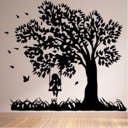 A Árvore do Balanço e a Menina