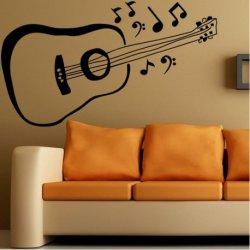 Guitarra Clássica e Notas Musicais