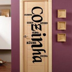 Cozinha em diferentes Linguas