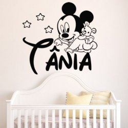 O Bebê Mickey de Gatas