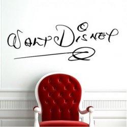 Assinatura de Walt Disney
