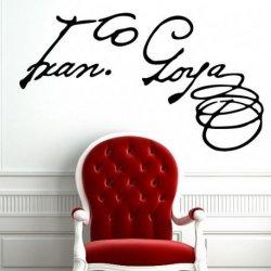 Assinatura de Goya