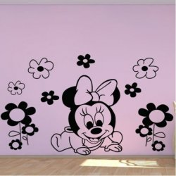 A Pequena Minnie Mouse e as Flores