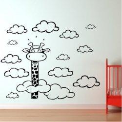Girafa entre Nuvens