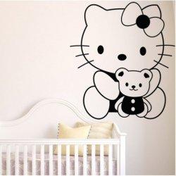 Hello Kitty e o seu Ursinho