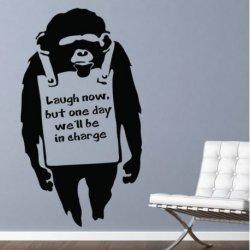 Bansky e o Chimpanzé