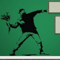 Banksy e o Menino das Flores