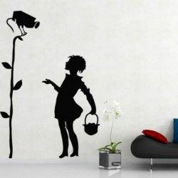 Banksy e a Menina do Foco