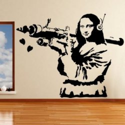 Banksy e a Gioconda