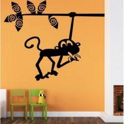 Pequeno Macaco com Banana