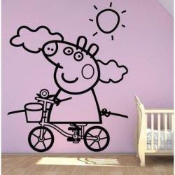 Peppa Pig de Bici