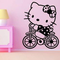 Hello Kirry em Bicicleta