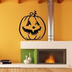 Simpática Abóbora de Halloween