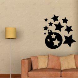 Bolas e Estrelas de Natal