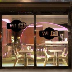 Logótipo de WiFi para Estabelecimentos