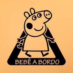 Peppa Pig em Carro