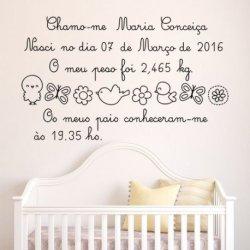 A Minha Carta de Bem-vinda Bebê