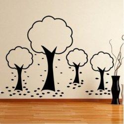 Família de Árvores Outonais