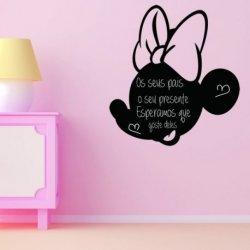 A Pequena Minnie Mouse Silhueta