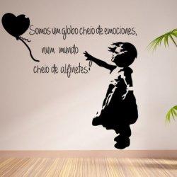 A Menina do Balão Banksy