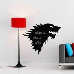 O Lobo da Guerra dos Tronos