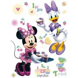 A Minnie e a Daisy a fazer Cupcakes