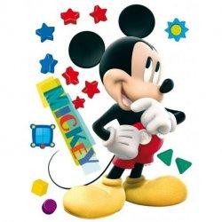 O Rato Mickey com estrelas