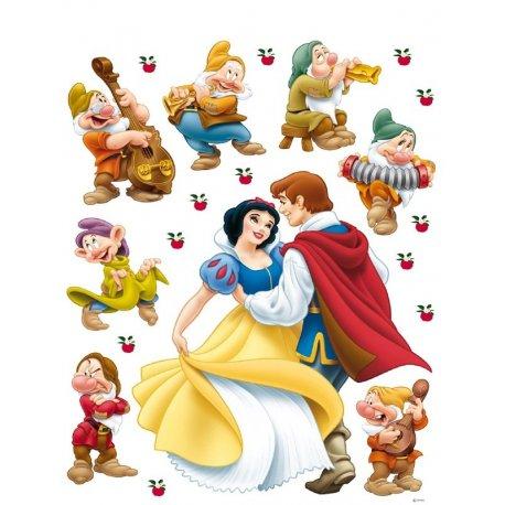 Branca de Neve a dançar com o Príncipe