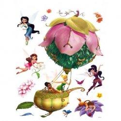 Fadas Disney com balão de flor