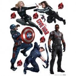Capitão América Guerra Civil personagens