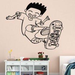 Jovem em Skate