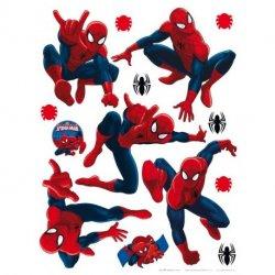 Diferentes posturas do Homem-Aranha