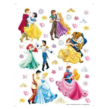 Princesas Disney a dançar