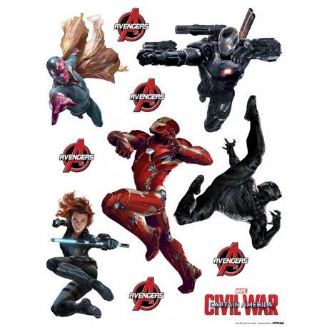 Personagens filmes Marvel
