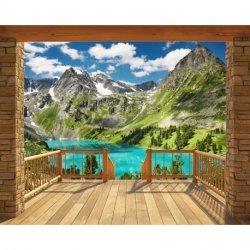 Porta Cabana na Montanha