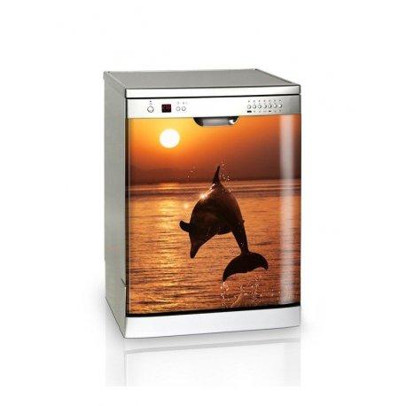 Golfinho ao pôr do sol