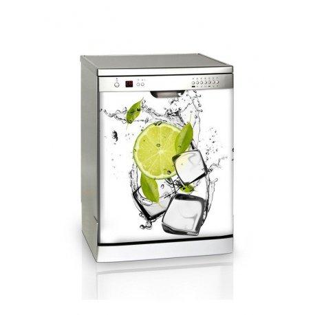 Limão e gelo