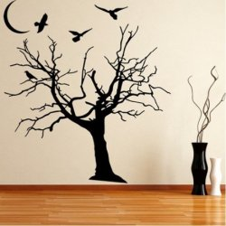Árvore Nua na Noite