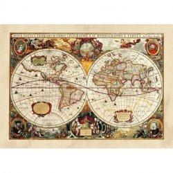 Mapa do Mundo Antigo Século XVII