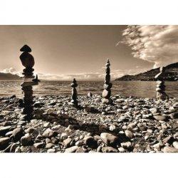 Pedras em Equilíbrio Zen