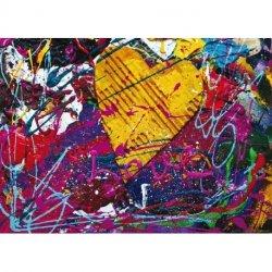Quadro Pintura Love Abstracto