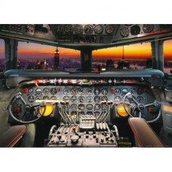 Pilotando desde a Cabina do Avião
