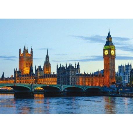 Palácio de Westminster Iluminado