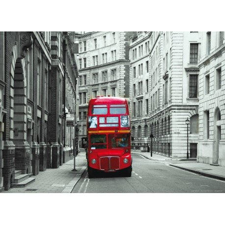 Autocarro nas Ruas de Londres
