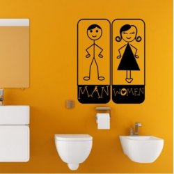 WC Man and Woman