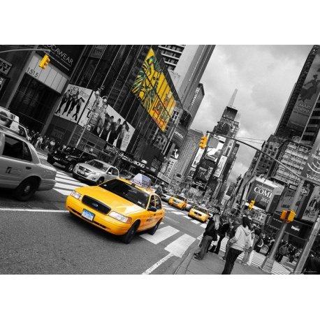 Amarelo na Grande Avenida de NY