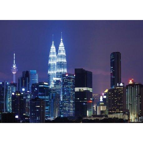 Torres Kuala Lumpur à Noite