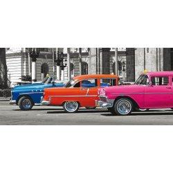 Carros Anos 50 Clássicos Coloridos