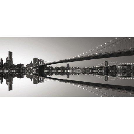 Pontes de Nova Iorque em Preto e Branco