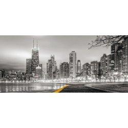 Luzes de Chicago em Preto e Branco